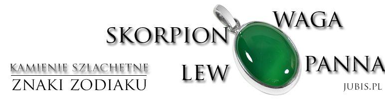 Znaki zodiaku kamienie –  Lew,Panna,Waga,Skorpion